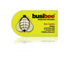Custom Shape Business Cards